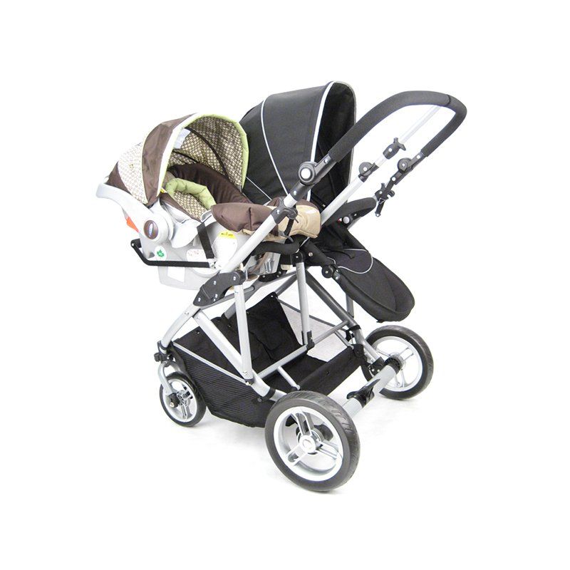 StrollAir Universal Car Seat Adapter Low For My Duo Stroller Black UA54435L