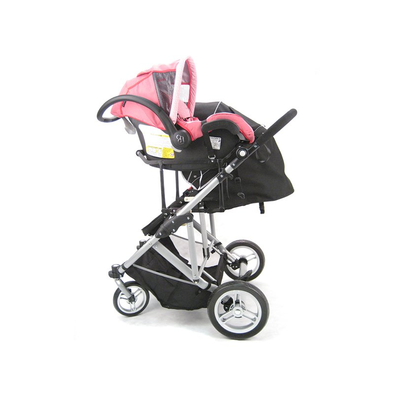 StrollAir Universal Car Seat Adapter High For My Duo Stroller Black UA54435H Christmas Holiday