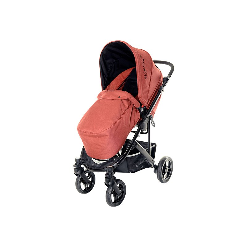 StrollAir CosmoS Single Stroller with Footmuff